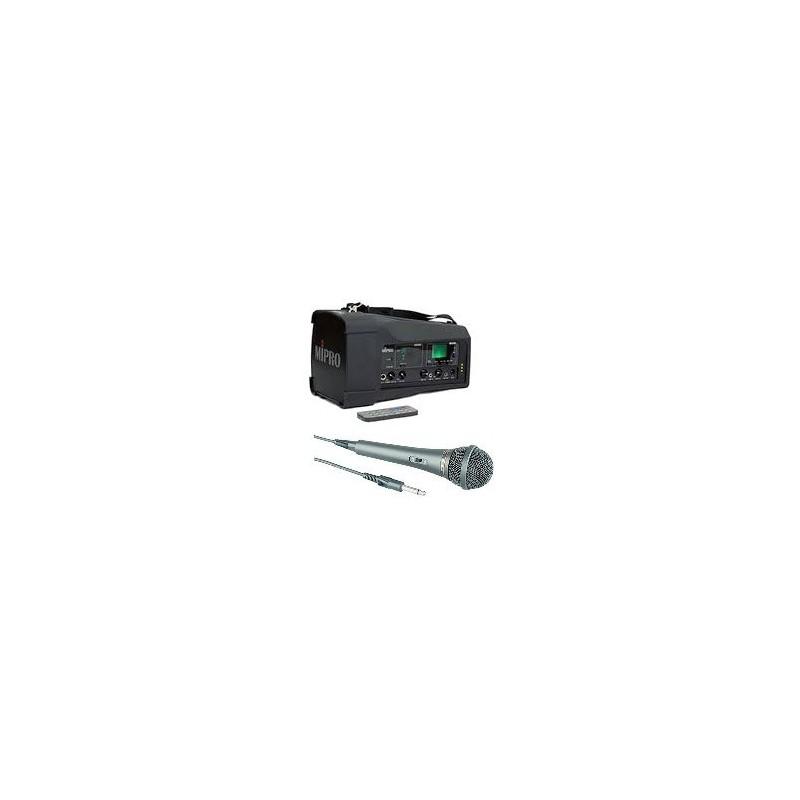 MA-100SB N2 Sonorisation Portable 50W...