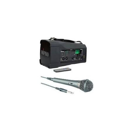MA-100SB N2 Sonorisation Portable 50W + 1 micro à fil