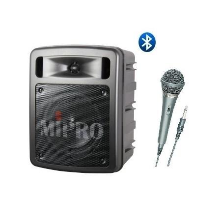 MA-303SB N2 Sonorisation portable 60 W + 1 micro à fil MIPRO