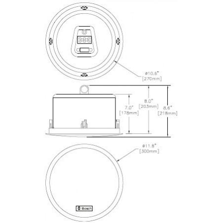 Enceinte : SCHEMA LC2-PC30G6-8L BOSCH